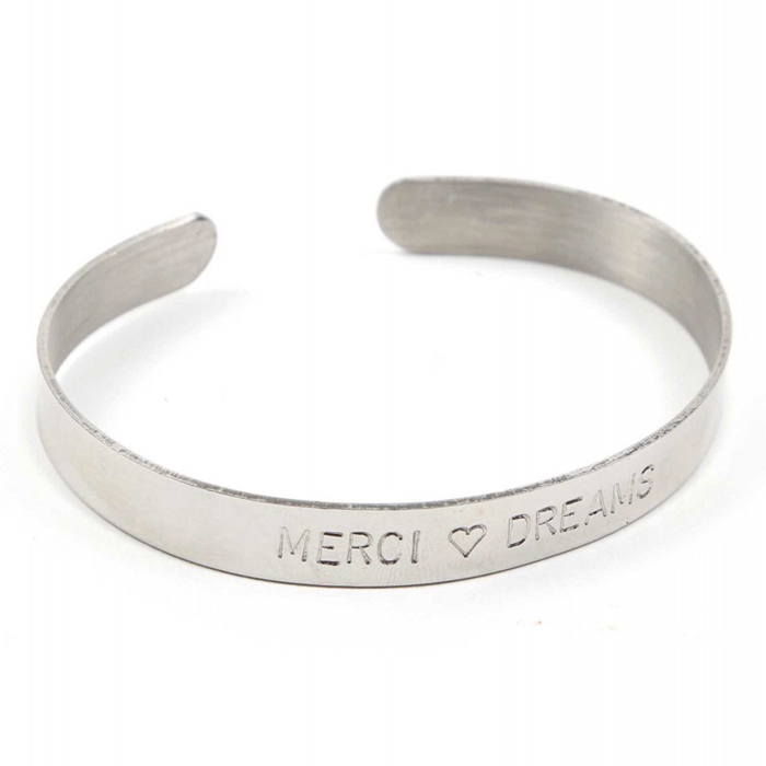 Merci Message Bracelet