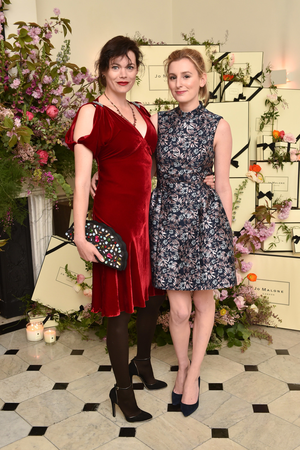 Jasmine Guinness & Laura Carmichael