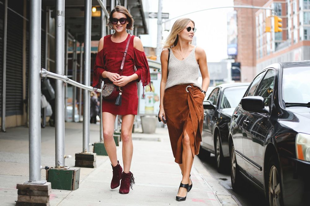 Street Style New York Fashion Week Spring 2016 Discover Escape
