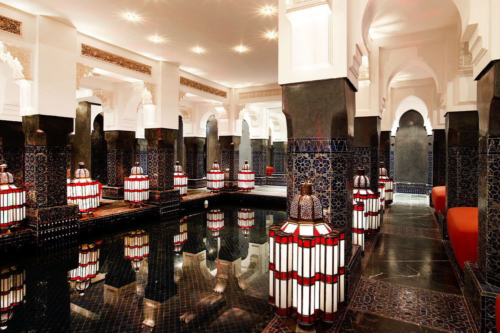 La Mamounia Marrakech Spa Pool Hammam 2015
