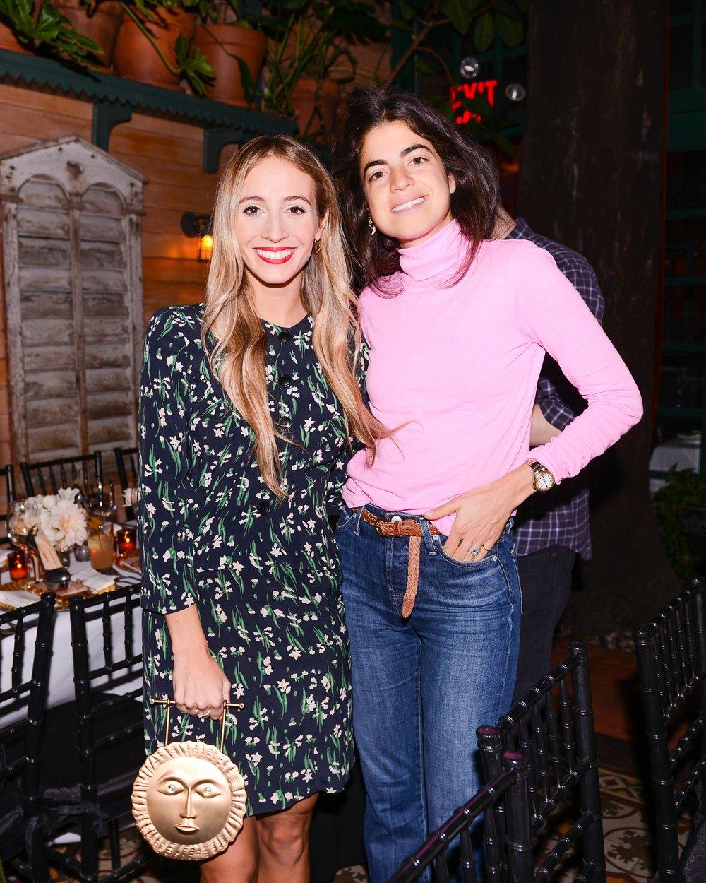 Harley Viera-Newton & Leandra Medine
