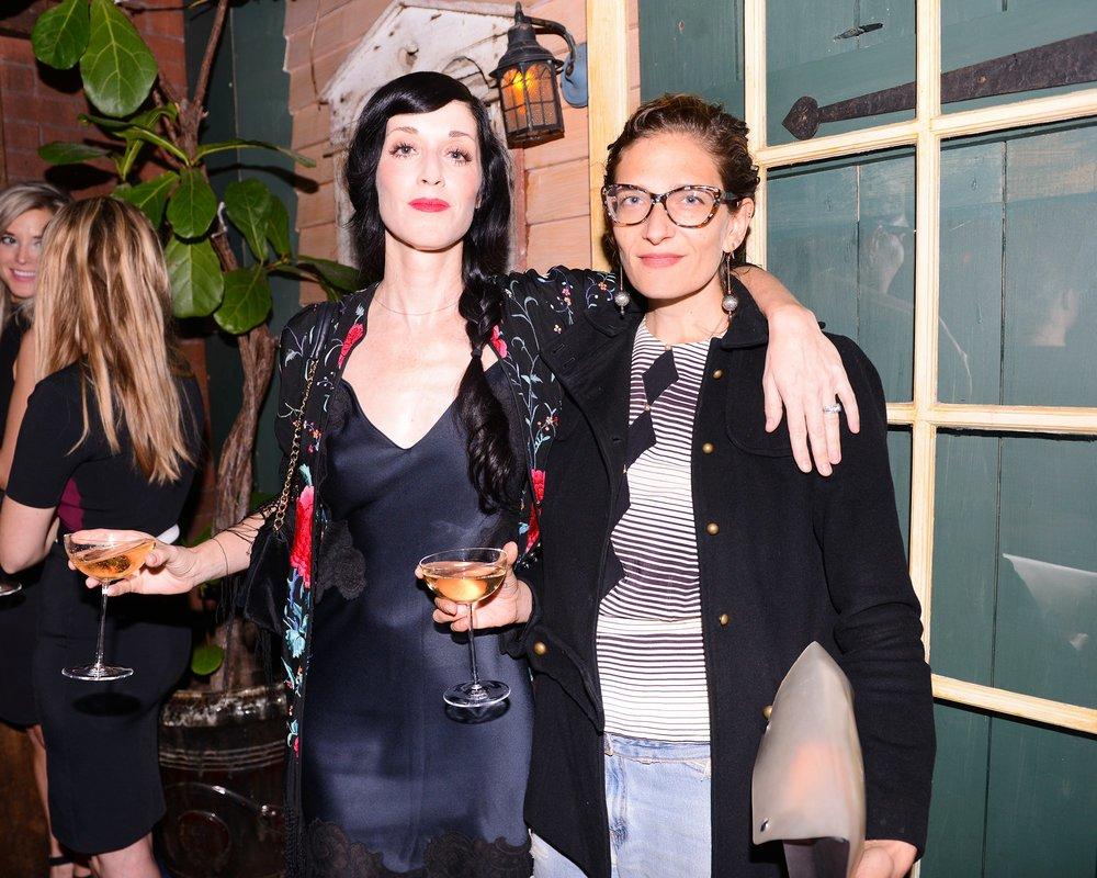 Sarah Sophie Flicker & Maya Singer