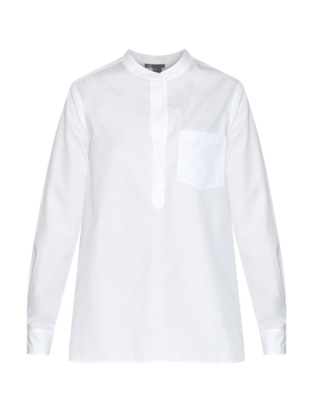 Vince Cotton Grid-ack shirt