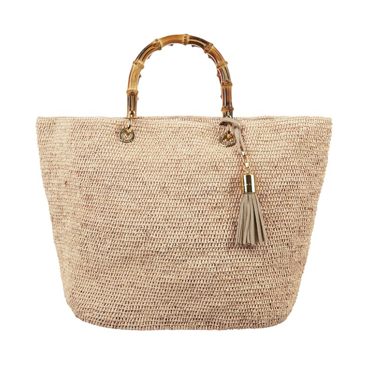 Heidi Klein Savannah Bay Mini Raffia Bag