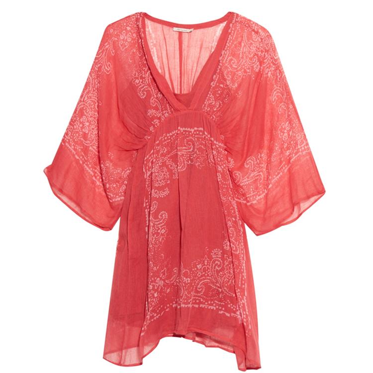 Mes Demoiselles bandana-print dress
