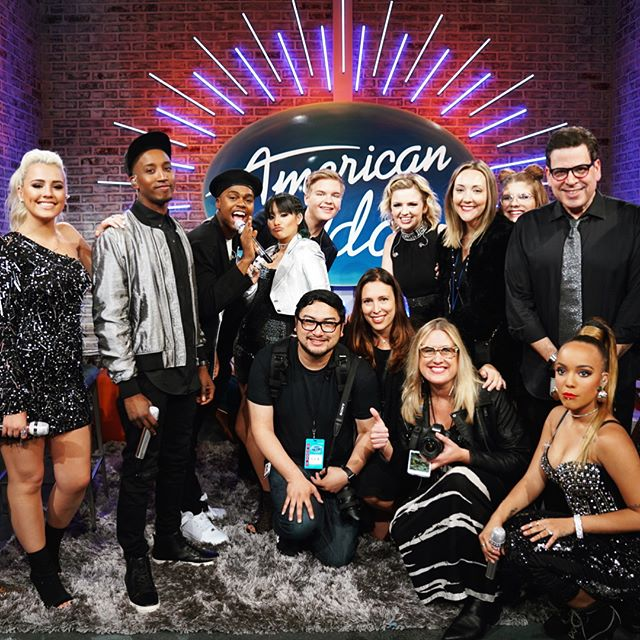 "Such a daggum blast doing @americanidol social media this season. Big ups to my fellow #content queens for rushing out those #midday #deliverables, @michaelorland of ""Michael O.M.G."" fame for all the dramatic guffaws and acronyms (ATDGAA), and winner @maddiepoppe, a true original and absolute delight. Cheers to season 2! 🎤🙌✨"
