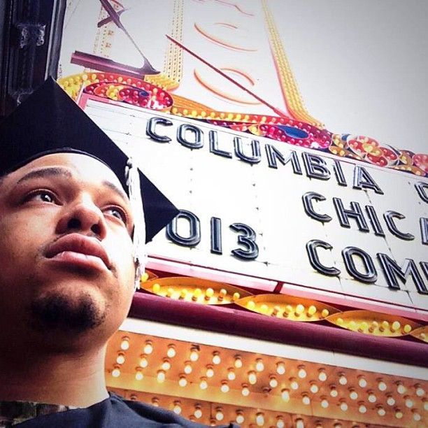 Sunday's Blessings. Graduation from @columbiachi 2013. BA in Film/Video: Animation.    #chicago #art #love