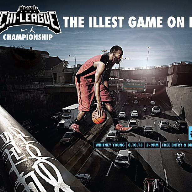 The Illest Game on Earth.    @Nike was my first client as an Art Director.   #WinCity #Basketball #Chicago #AdLife