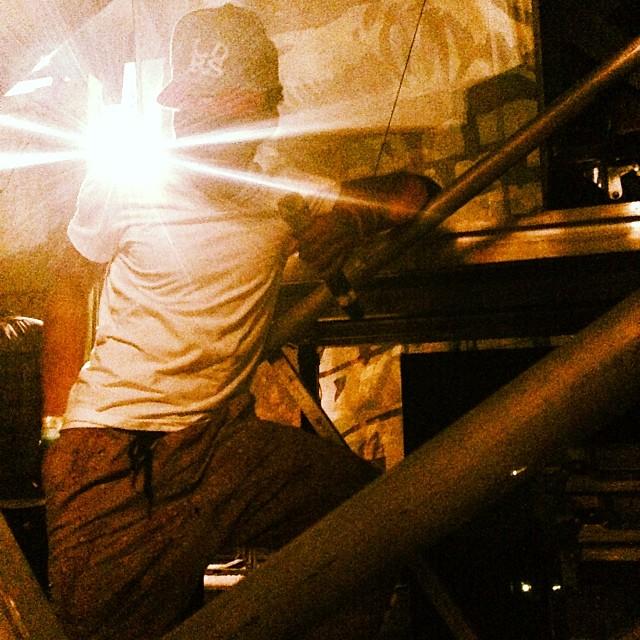 Star power.@chancetherapper   #socialexperimenttour  #artbaselmiami2013