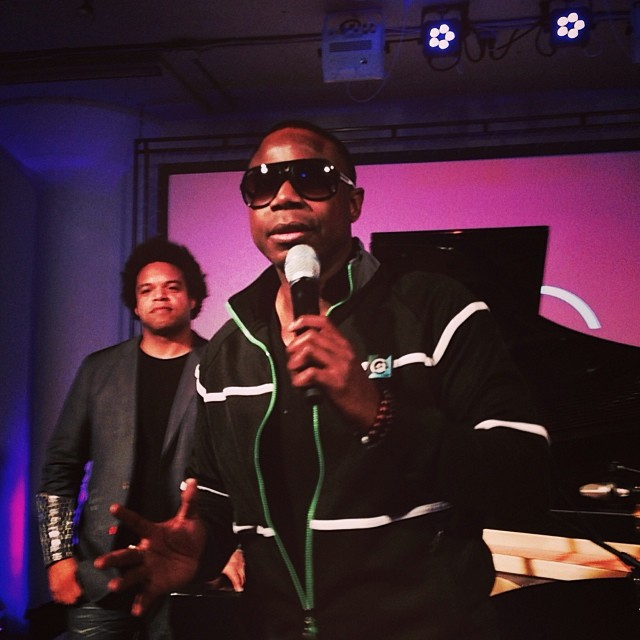 The Legendary Doug E Fresh performed at my company's 10 year anniversary last night.   #cgx #adlife #hiphop @discovercg