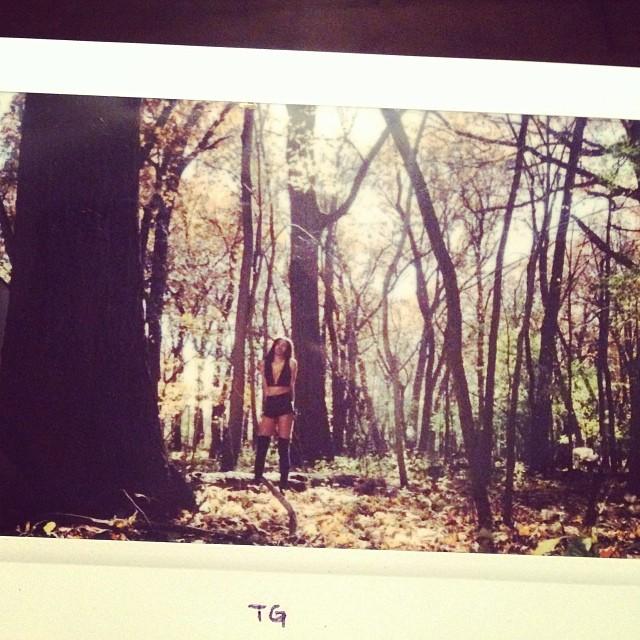 @treexgod   Model: Paris Rich  #polaroid #polaroidphotography