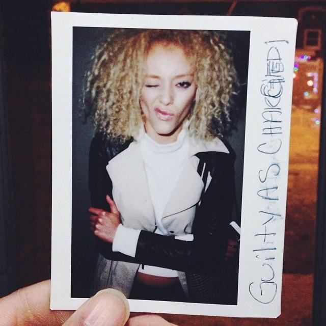 Gabi.   #polaroid of model  gabriellekniery . Visit me, R27F.com