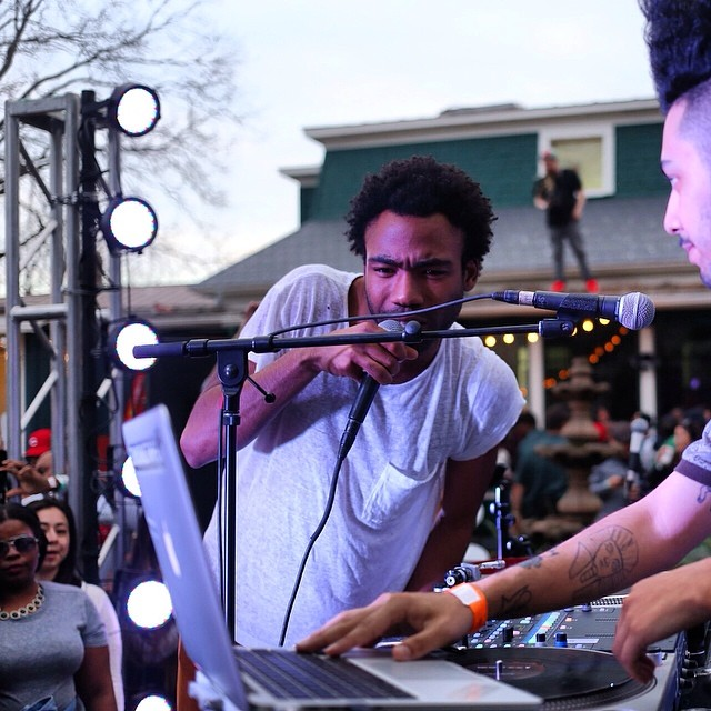 Donald Glover. Complex House. #SXSW is childishness…