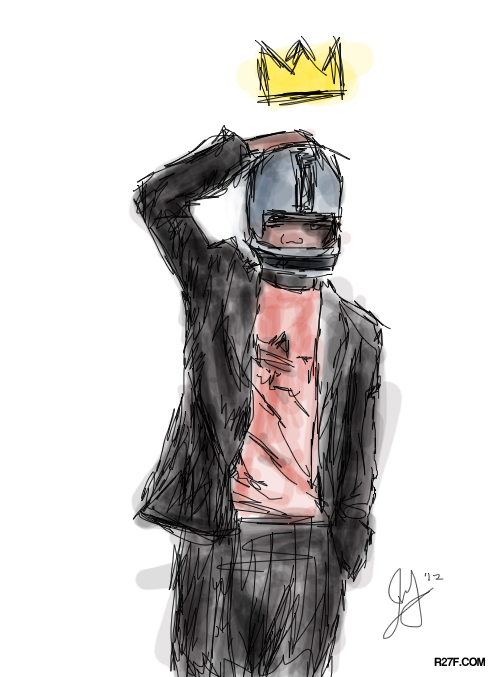 Illustration:  Jean-Michel Basquiat - one of my favorite artist