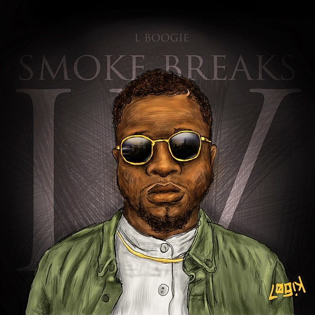 Illustrated the homie L-Boog of THEM People.   Listen: soundcloud.com/thempeoplemusic   #art #music #smokebreaksIV #chicago
