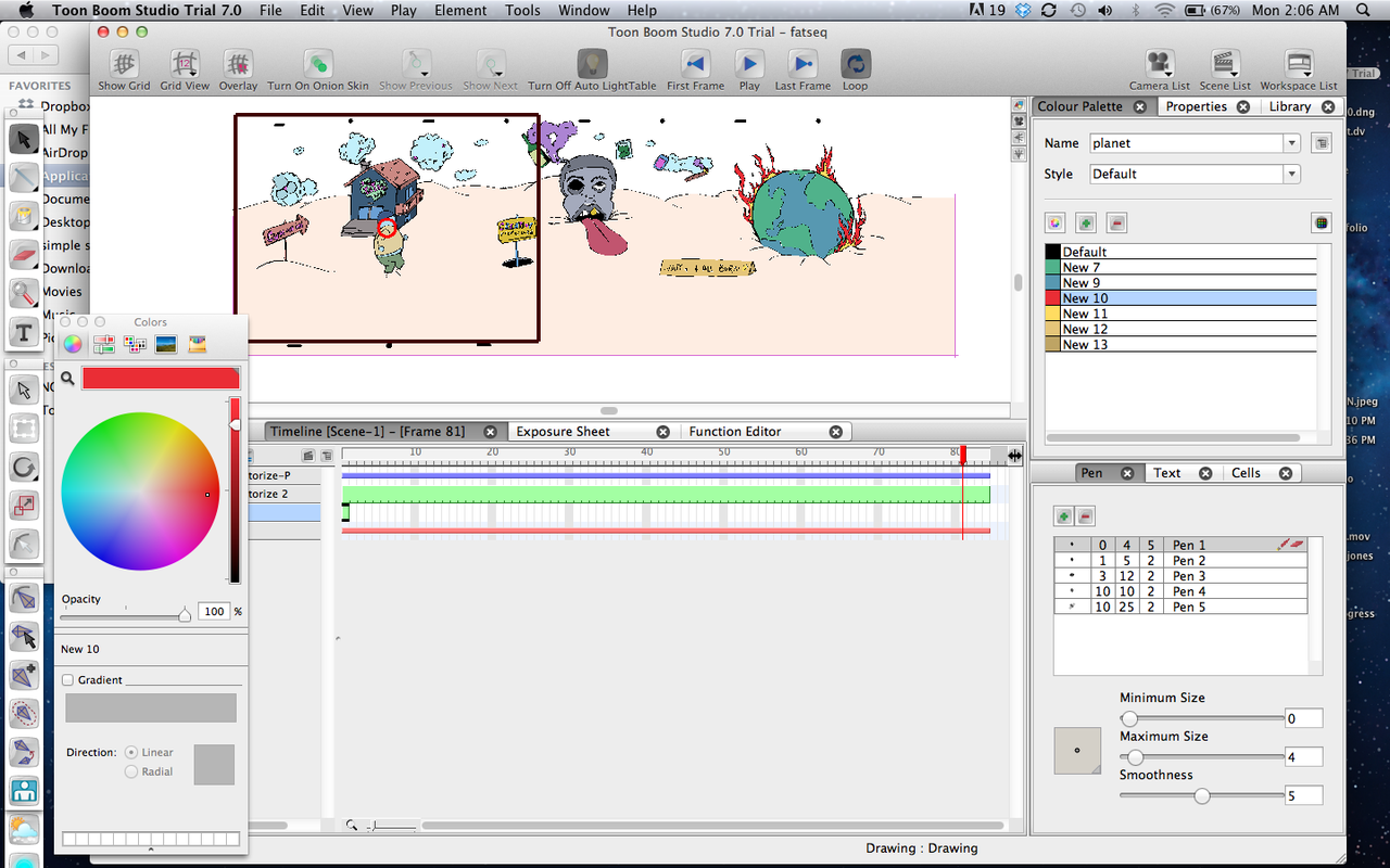 Learning ToonBoom. #animation