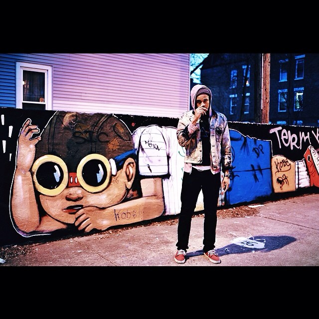 Inspiration in Pilsen. Aspire to Inspire.   word to Hebru Brantley.   #art #graffiti #chicago