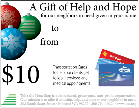Click to print gift card