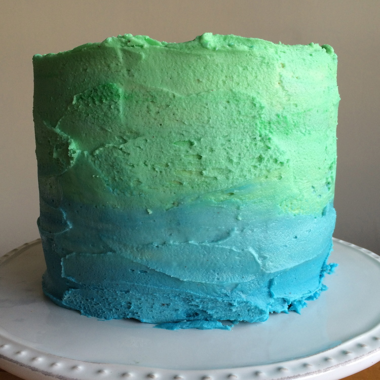 Chocolate Birthday Cake With White Chocolate Buttercream Sophie
