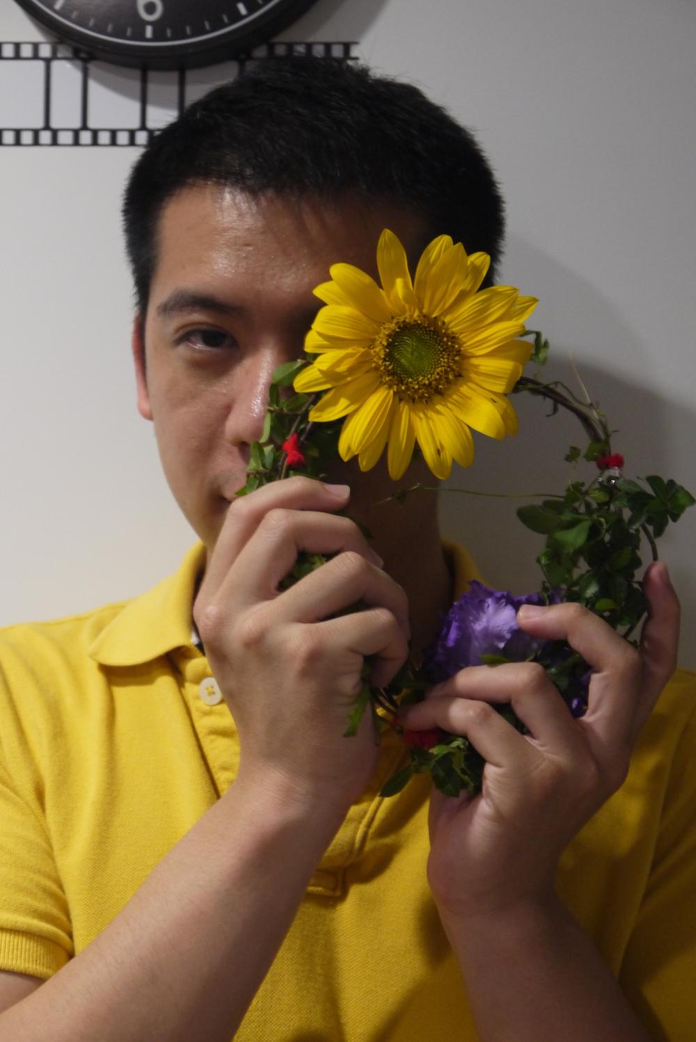 林家慶 Aid Lin 30歲,台中市,教科書出版業。