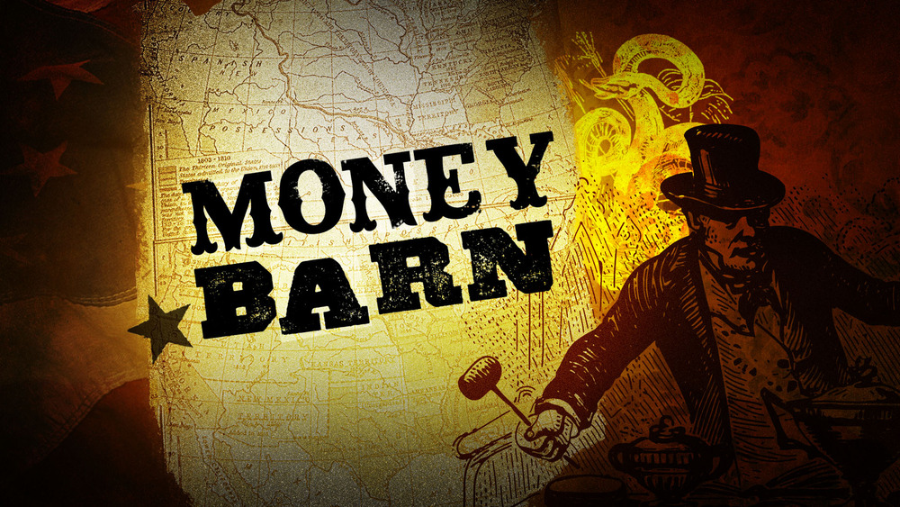 Final Design for MoneyBarn Show Title