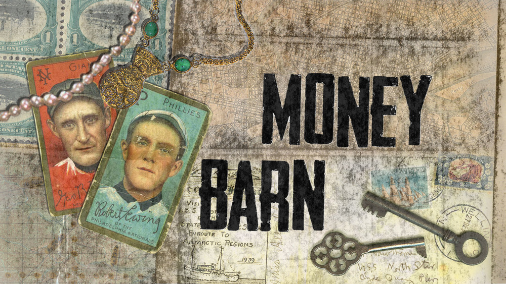Alternate Design for MoneyBarn Show Title