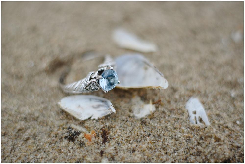 Arynn Photography, Scarborough Bluffs engagement shoot, Toronto Weddding Photographer, Durham Wedding Photographer, Geeky Engagement, unique wedding ring, blue engagement ring, beach engagement