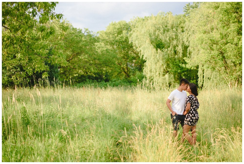 Arynn Photography Toronto Wedding Photographer for whimsical weddings Frenchmans Bay Engagement