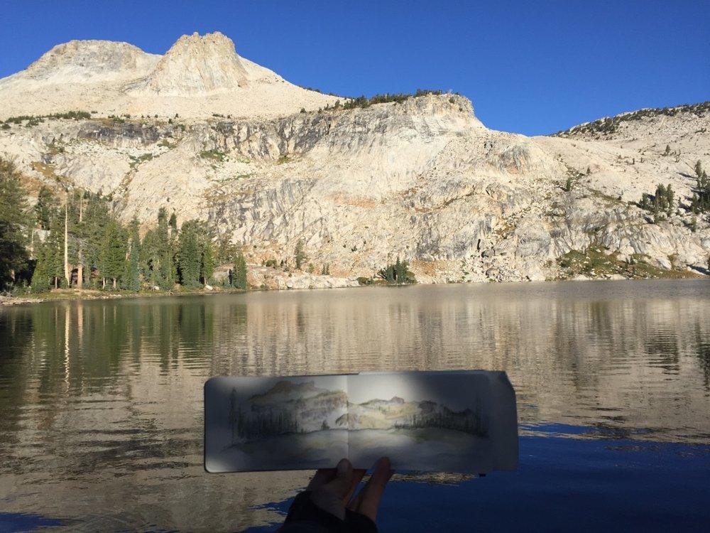Mt. Hoffman, Yosemite
