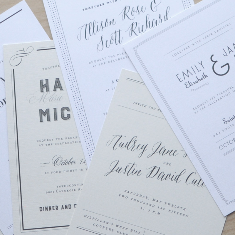 We Make Ordering Your Wedding Invitations Simple.