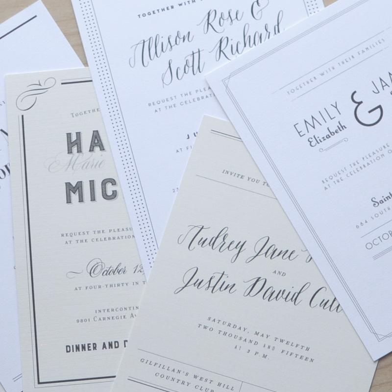 birdhaus co wedding invitations columbus ohio