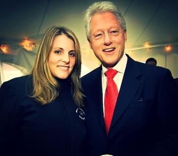 Amber&PresidentClinton(2007).JPG