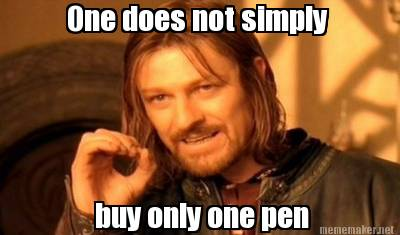 Boromir one pen