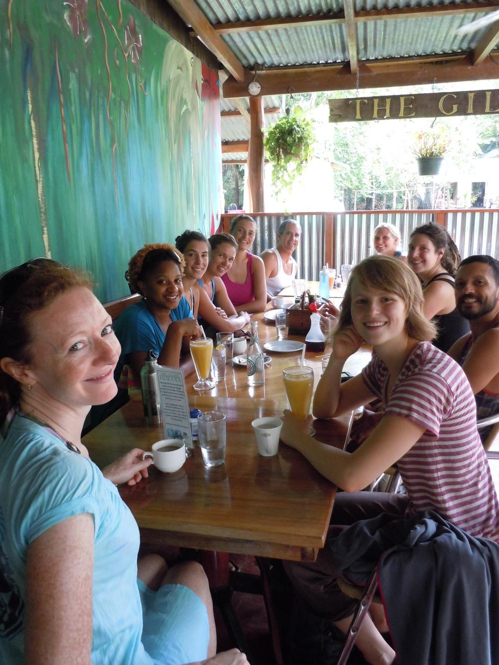 Sunday brunch at The Gilded Iguana.