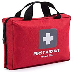 Amazing 200 piece first-aid kit, perfect for your next big adventure.