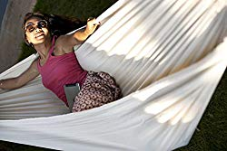 Double hammock for relaxing after a long day.