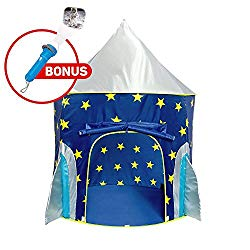 Kids play tent! Not going to lie, I kind of want one too.