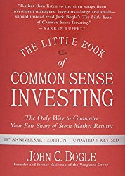 The Little Book of Common Sense Investing.