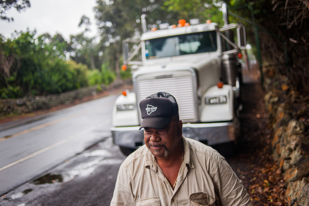 Documentary assignment about water access on Hawaiian lands. Hawai'i rancher Daryl Kaluau Sr. must spend nearly half a day hauling water to his South Point ranch.