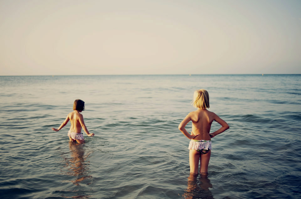 Sisters in the sea.