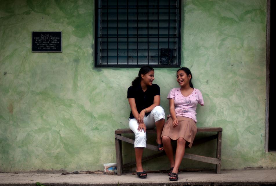 Fotokids project in Las Mangas, Honduras.