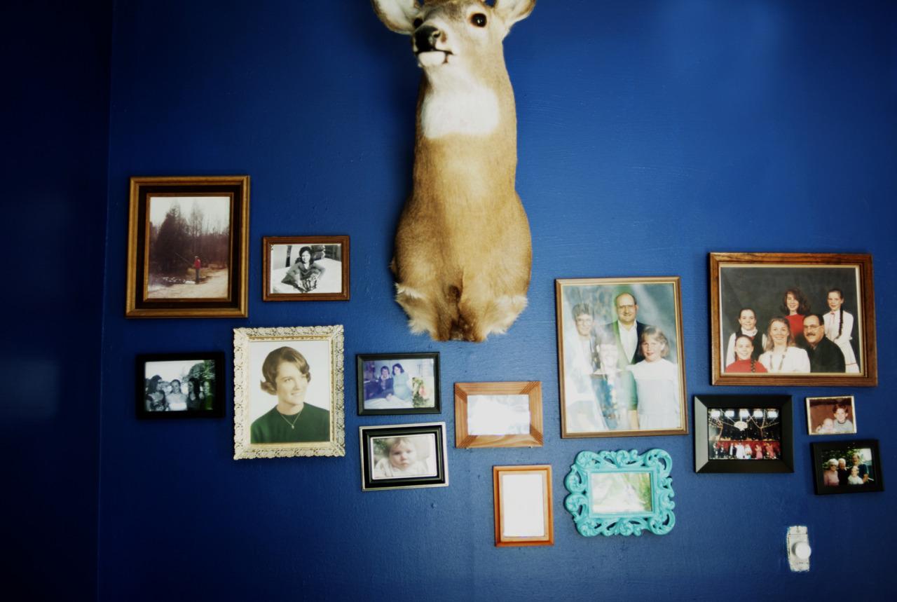 Sarah's wall.