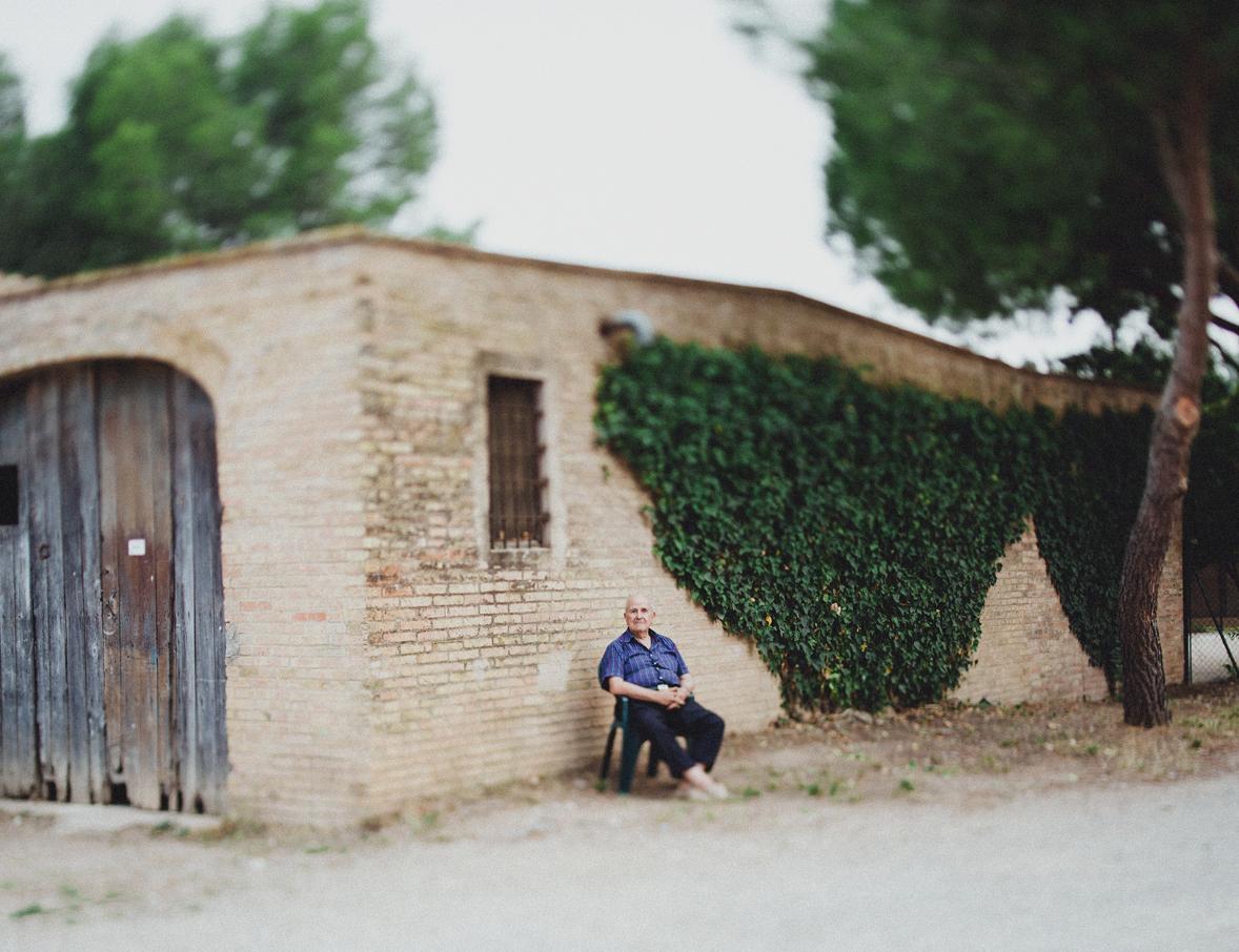 Rural life in Girona.