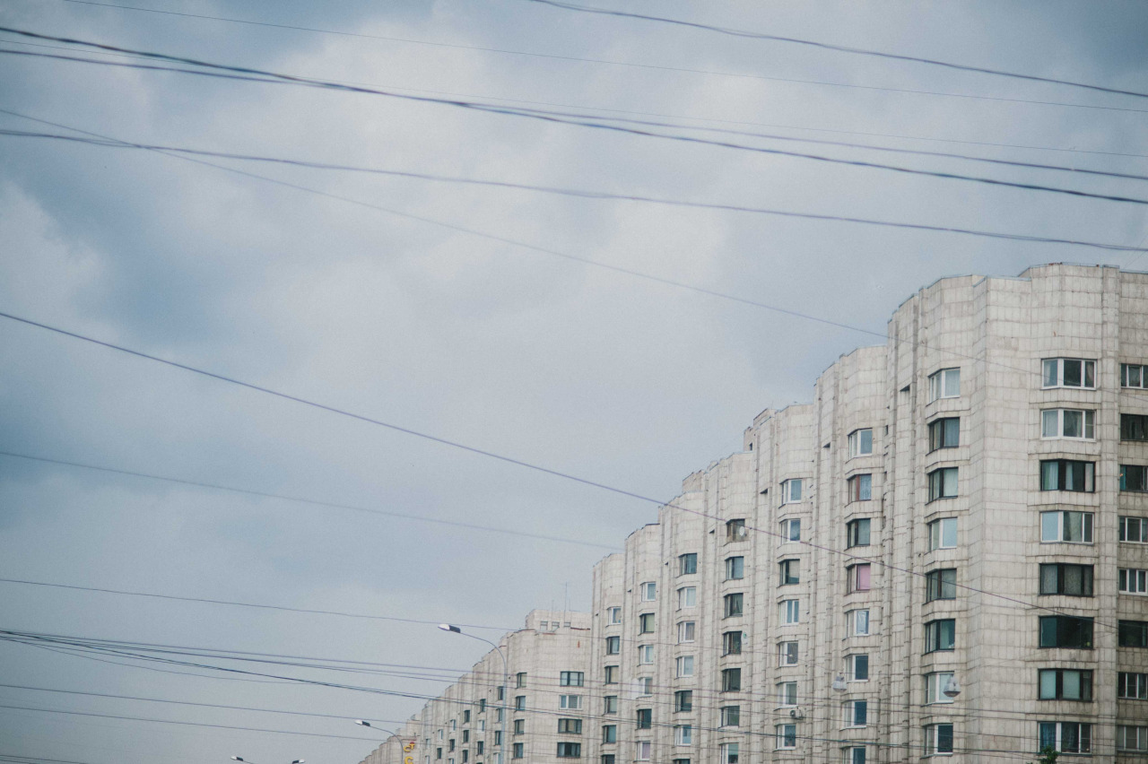 More urban landscape from St. Petersburg.