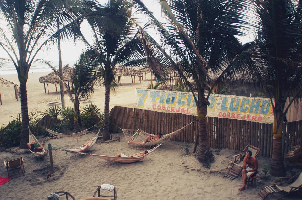 One of my fave beach destinations. Canoa, Ecuador.