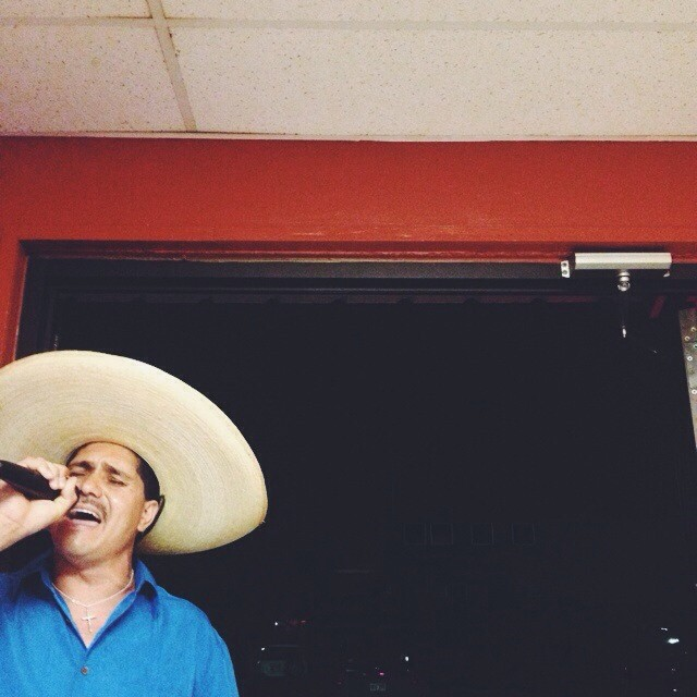 They had me at bolero karaoke. #ilovemexicanfood #vscocam #sombrero #ole