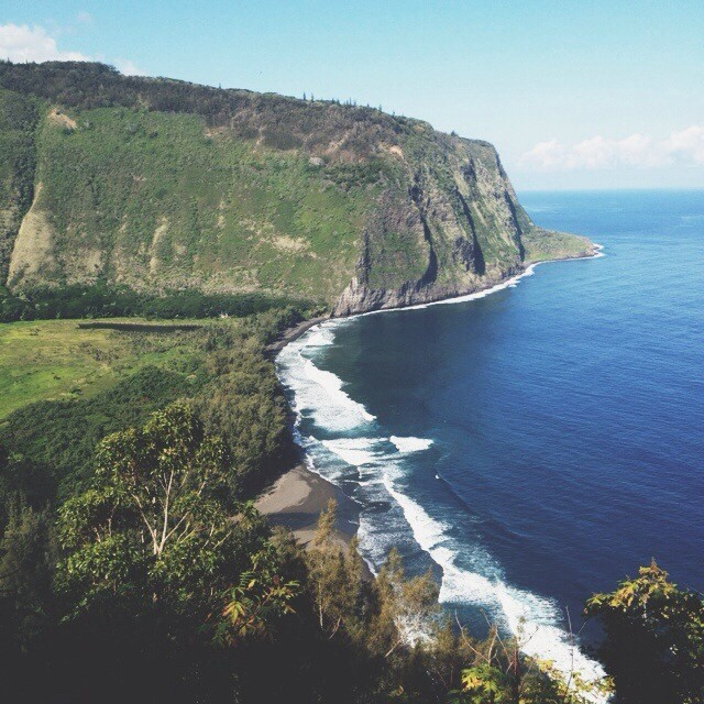 Waipio valley is the jam. #hawaii #aloha #waipio #bigisland #vsco #vscocam #landscape