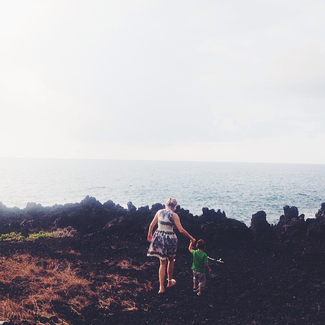 Visits with Joje. #hawaii #bigisland #aloha #vsco #vscocam #ocean #love