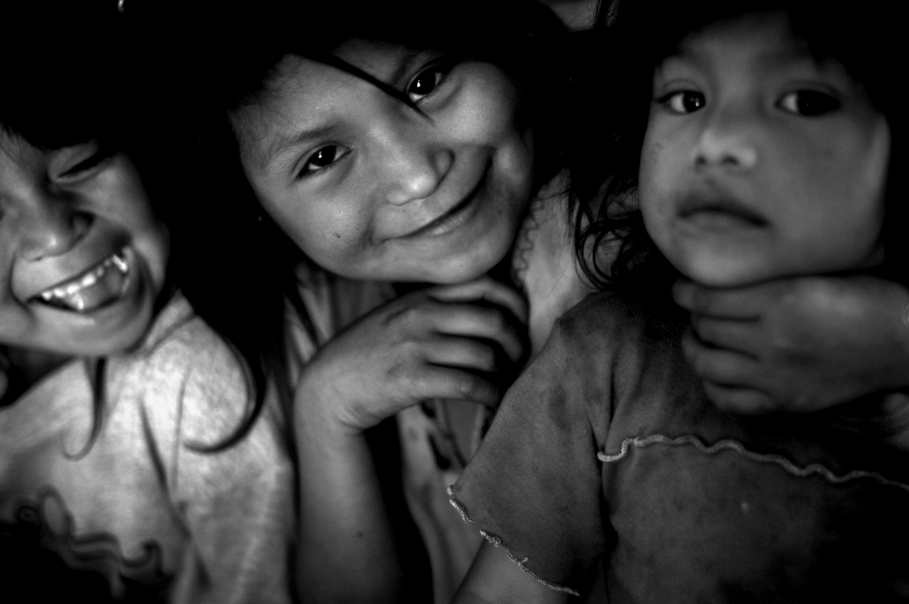 Little babies from Santiago Atitlan