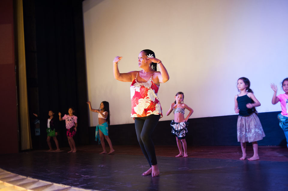 Auntie Aloha and her hula class. Photos from the People's Theater in Honoka'a, Hawai'i for Hana Hou! The Magazine of Hawaiian Airlines. I loved meeting the amazing family behind this theater and the community that loves and supports them.